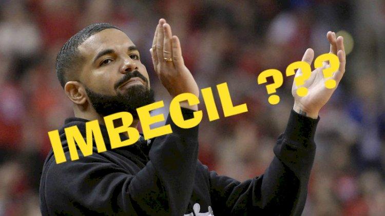 Será um IMBECIL??? Drake trouxe sua própria marmita para o Brasil.